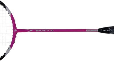 Thwack Sporty 10 with Kit Bag G1 Strung Badminton Racquet (Pink, Weight - 87 g)