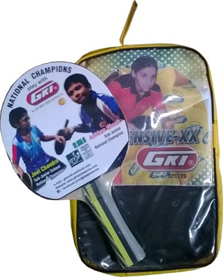 GKI Offensive XX Table Tennis Racquet (Weight - 89 g)