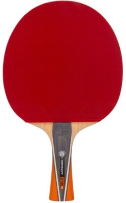 Artengo FR 940 Strung Table Tennis Racquet (Red, Black, Weight - 120 g)