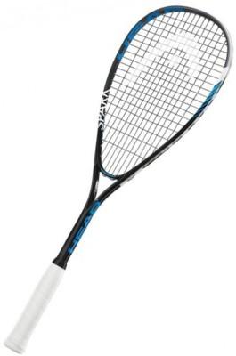 Head Spark Elite Strung Squash Racquet (Black, Blue, Weight - 300 g)