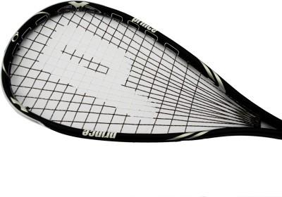 Prince Pro Black SP 850 G0 Strung Squash Racquet (Black, Weight - 136 g)
