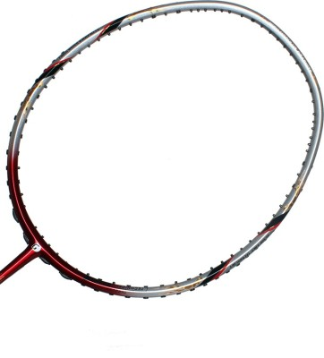Gamma ULTIMAX 88 G4 Unstrung Badminton Racquet (Grey, Red, Weight - 85 g)