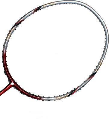 Gamma ULTIMAX 88 G4 Unstrung Badminton Racquet (Grey, Red, Weight - 85 g)