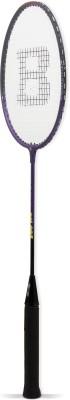 BURN BN005 Standard Strung Badminton Racquet (Purple, Black, Weight - 95 g)