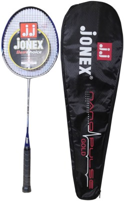 Jonex Nanopulse-A Standard Strung Badminton Racquet (Multicolor, Weight - 400 g)