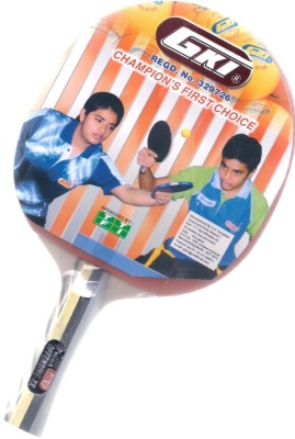GKI Offensive XX 0 Table Tennis Racquet (Multicolor, Weight - 490 g)