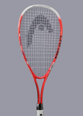 Head Nano Ti Junior Strung Squash Racquet (Assorted, Weight - 185)