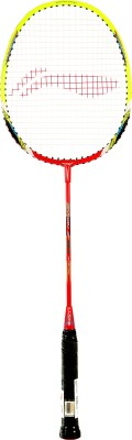 Li-Ning XP 80 II S2 Strung Badminton Racquet (Red, Yellow, Weight - 85 g)