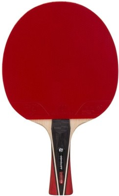 Artengo FR 960 Strung Table Tennis Racquet (Red, Black, Weight - 120 g)