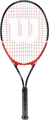 Wilson Fusion 4 1/2 Strung Tennis Racquet (Multicolor, Weight - 290 g)
