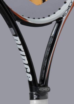Prince Exo Tour Lite 100 4 Unstrung Tennis Racquet (Black, Orange, White, Weight - 272.16)