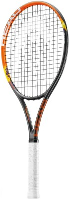 Head MX Spark Pro G3 Strung Badminton Racquet (Orange, Yellow, Weight - 3U)