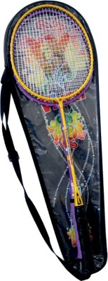 Vixen Happy Times Gift Set 1.25 Strung Badminton Racquet (Multicolor, Weight - 345 g)