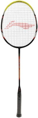 Li-Ning GTEK 60 G4 Strung Badminton Racquet (Red, Yellow, Weight - 80 g)