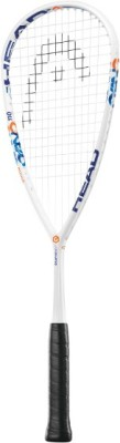 Head Graphene Xt Cyano 110 G4 Strung Squash Racquet (White, Blue, Weight - 110 g)