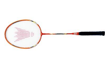 Megaplay FX R1 G4 Strung Badminton Racquet (Orange, Weight - 90 g)