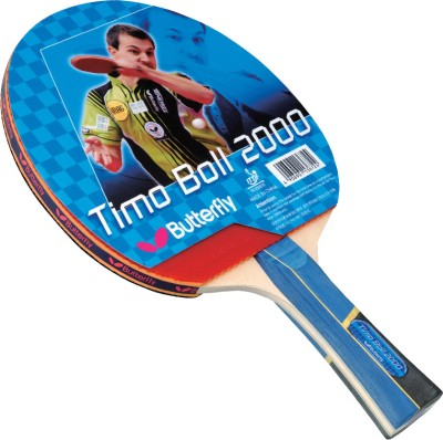 Butterfly Timo Boll 2000 Table Tennis Racquet (Weight - 81 g)