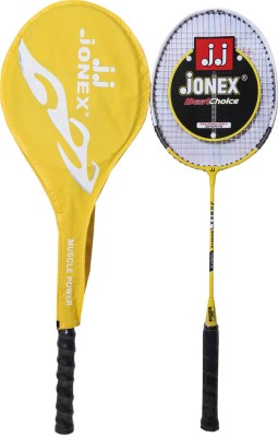 Jonex Muscle-A Standard Strung Badminton Racquet (Multicolor, Weight - 400 g)