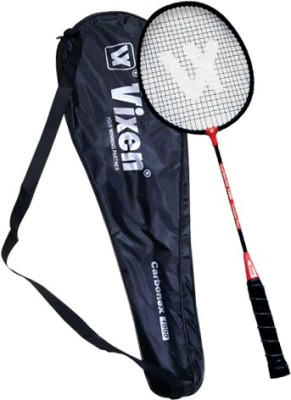 Vixen Carbonex Plus 1000 1.25 Strung Badminton Racquet (Multicolor, Weight - 252 g)