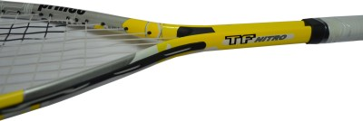 PRINCE TF NITRO G0 Strung Squash Racquet (Yellow, Weight - 185 g)