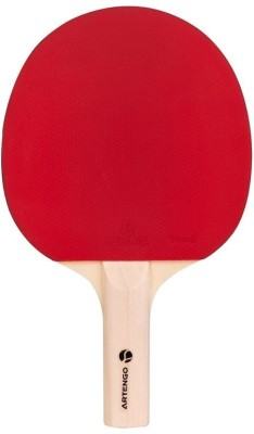Artengo FR 710 Strung Table Tennis Racquet (Red, Black, Weight - 120 g)