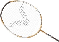 Victor Brave Sword G3 Strung Badminton Racquet (Gold, Weight - 85)