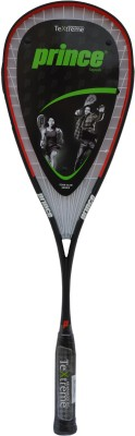 Prince Tour Team 120TX G0 Strung Squash Racquet (Black, Weight - 120 g)