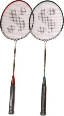 Hariom enterprises UT007 G4 Badminton Racquet (Multicolor, Weight - 400 g)