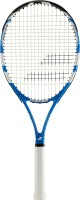 Babolat Evoke 102 -4 3/8 G3 Strung Tennis Racquet (Black, Blue, Weight - 270)