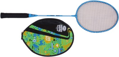 Disney Mickey Mouse G4 Strung Badminton Racquet (Blue, Weight - 400 g)