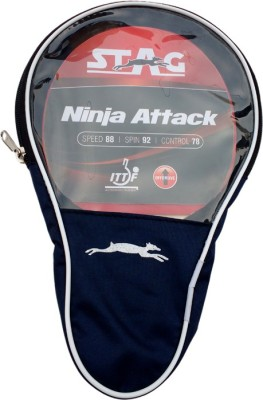 Stag Ninja Attack Table Tennis Racquet (Weight - 80 g)