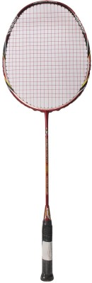 ASHAWAY POWER SPEED G4 Strung Badminton Racquet (Red, Black, Weight - 85 g)
