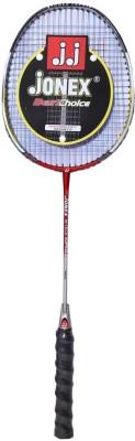 Jonex Hitech-A Standard Strung Badminton Racquet (Multicolor, Weight - 400 g)