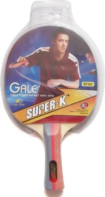 Super-K One Star Long Holder T.T G4 Unstrung Table Tennis Racquet (Multicolor, Weight - 300 g)