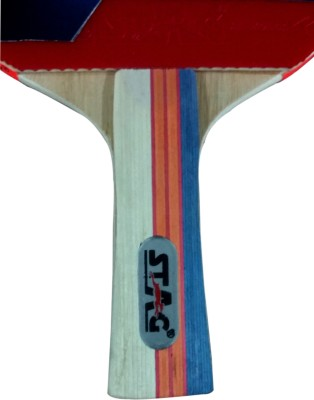 Stag Ninja pro Table Tennis Racquet (Blue, Red, Weight - 185 g)