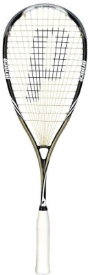 Prince Pro Sovereign 650 G4 Unstrung Squash Racquet (Black, Gold, Weight - 135 g)