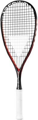 Tecnifibre Carboflex Jr- 2015 4 STRUNG Squash Racquet (Black, Red, Weight - 140)