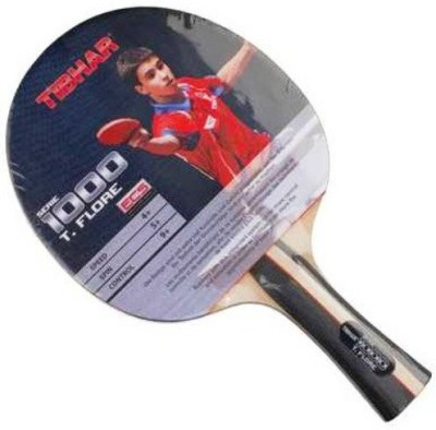 Tibhar T. Floor 1000 G4 Strung Table Tennis Racquet (Multicolor, Weight - 350 g)