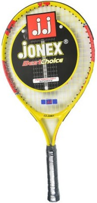 Jonex Smash 646 21 Standards Unstrung Tennis Racquet (Yellow, Red, Weight - 350 g)
