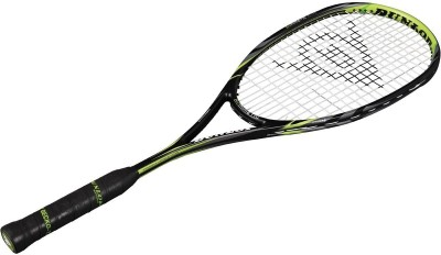 Dunlop Biomimetic Elite Standard Strung Squash Racquet (Silver, Red, Grey, Weight - 135 g)