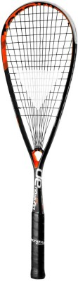 TECNIFIBRE DYNERGY 125 AP G3 Strung Squash Racquet (Grey, Orange, Weight - 125 g)
