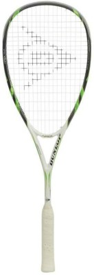 Dunlop Apex Tour G4 Strung Squash Racquet (Black, Green, Weight - 120 g)