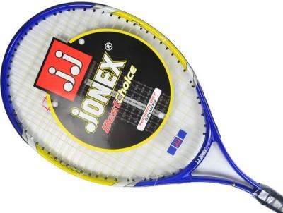 Jonex Star 25 Standards Unstrung Tennis Racquet (Blue, Yellow, White, Weight - 300 g)