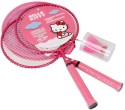 Disney Hello Kitty Kids NA Badminton Racquet - Pink, Weight - 300