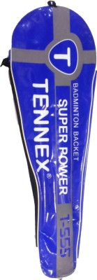 Tennex T-555 G5 Strung Badminton Racquet (Blue, Weight - 189 g)