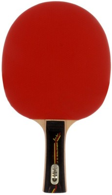 Donic Waldner 500 G4 Strung Table Tennis Racquet (Red, Black, Weight - 156 g)
