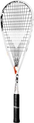 TECNIFIBRE DYNERGY 130 AP G3 Strung Squash Racquet (White, Black, Orange, Weight - 130 g)