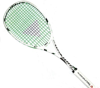 TECNIFIBRE SUPREME 125 G3 Strung Squash Racquet (White, Green, Weight - 125)