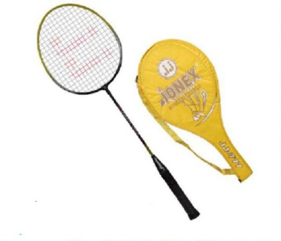 JJ JONEX YORKIE 777 Strung Badminton Racquet (Multicolor, Weight - 110 g)