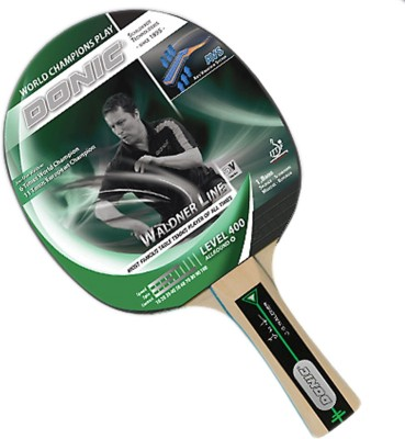 Donic Waldner 400 G1 Unstrung Table Tennis Racquet (Green, Weight - 120 g)